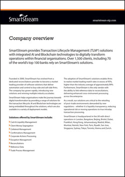 SmartStream Company Overview