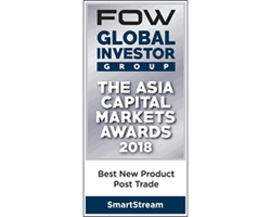 FOW Asia Capital Awards 2018 - Post Trade