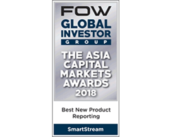 FOW Asia Capital Awards 2018 - Regulatory Reporting