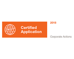 SWIFT Certified Application: Corporate Actions