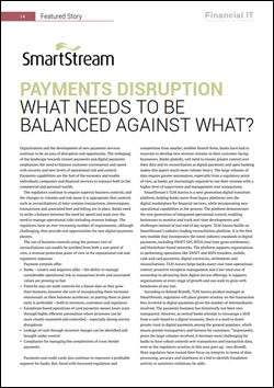 Payments Disruption: What needs to be balanced against what?