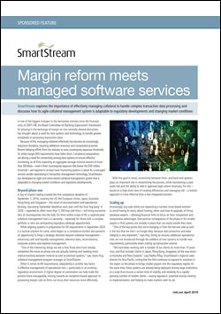 Margin reform meets managed software services