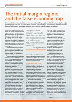 The initial margin regime and the false economy trap
