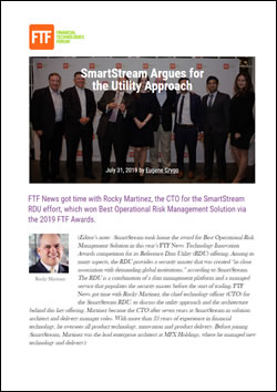 SmartStream Argues for the Utility Approach