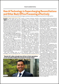 How AI Technology is Supercharging Reconciliations and Other Back Office Processing effectively