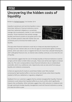Uncovering the hidden costs of liquidity