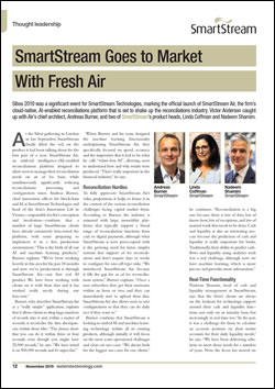 SmartStream Goes to Market With Fresh Air
