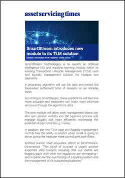 SmartStream introduces new AI module to its TLM solution