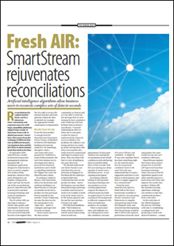 Fresh AIR: SmartStream rejuvenates reconciliations