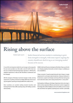 India: Rising above the surface