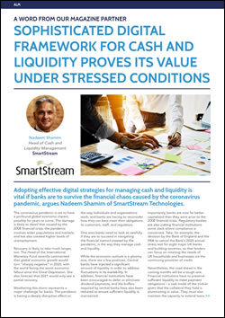 Sophisticated digital framework for Cash and Liquidity proves its value under stressed conditions