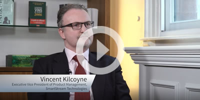 Interview with Vincent Kilcoyne, SmartStream at the Sell-Side Technology Awards