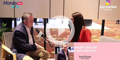 Mark Taylor, Sales Director, SmartStream, about the company at Money 20/20 Asia