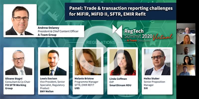 Trade & transaction reporting challenges for MiFIR, MiFID II, SFTR, EMIR Refit