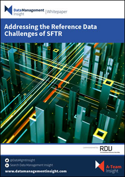 Addressing the Reference Data Challenges of SFTR